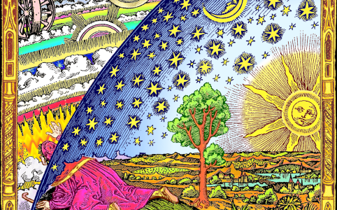 .Raven - Flammarion coloriert auf den Wikimedia Commons BY-SA