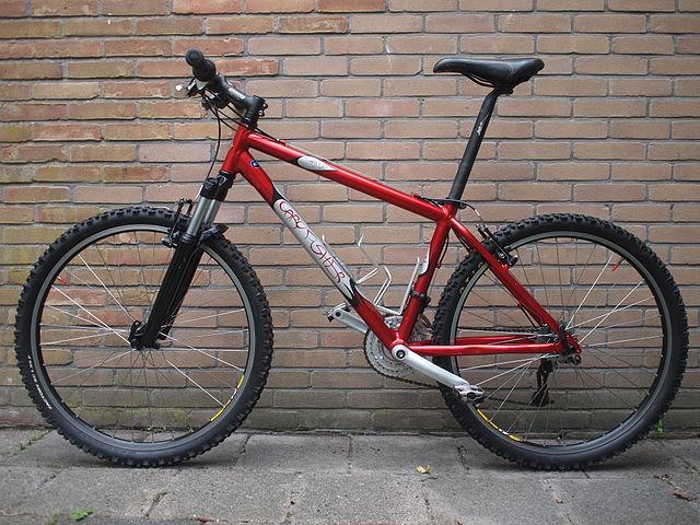 Gary Fisher Mountainbike von Uberprutser. CC 3.0 (BY-SA) URL: http://commons.wikimedia.org/wiki/File:Gary_Fisher_Moutainbike.JPG