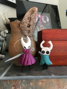 Hollow knight clay friends!
