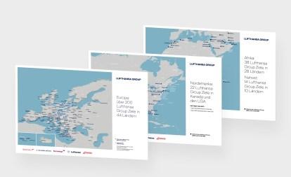 Reiseziel Netzwerkarten