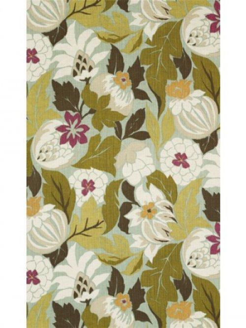 Buy Nina Campbell Perroquet Chardon Fabric Online Alexander InteriorsDesigner Fabric Wallpaper