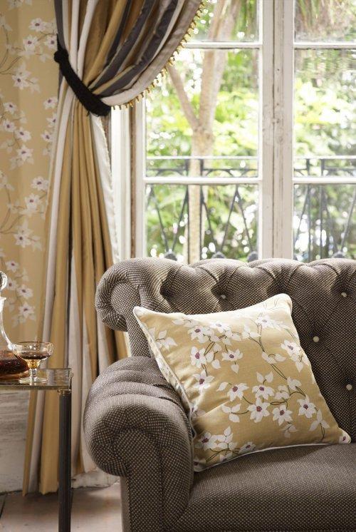 Buy Nina Campbell Montacute Malleny Fabric Online Alexander InteriorsDesigner Fabric Wallpaper