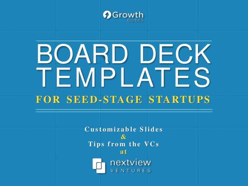 board deck template seed stage
