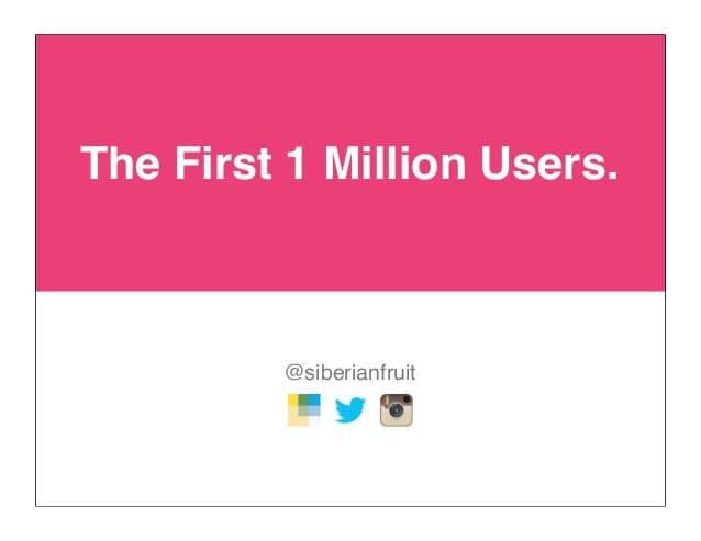 first million users wanelo