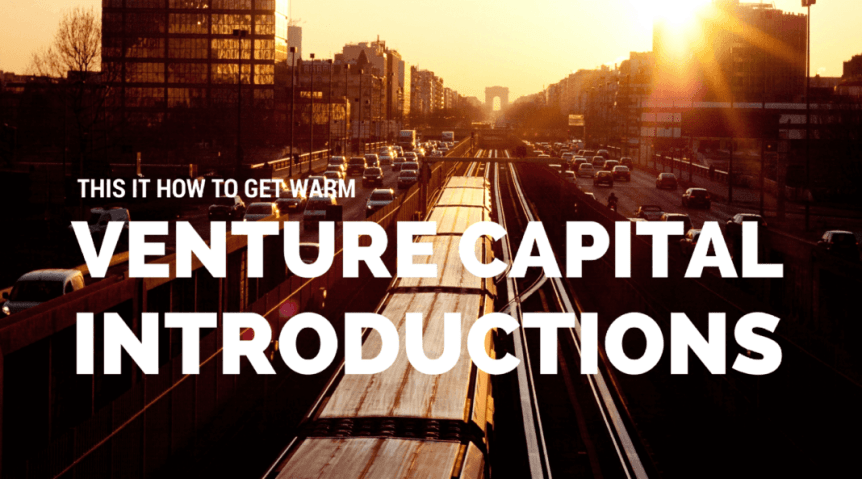 introductions to venture capital investors