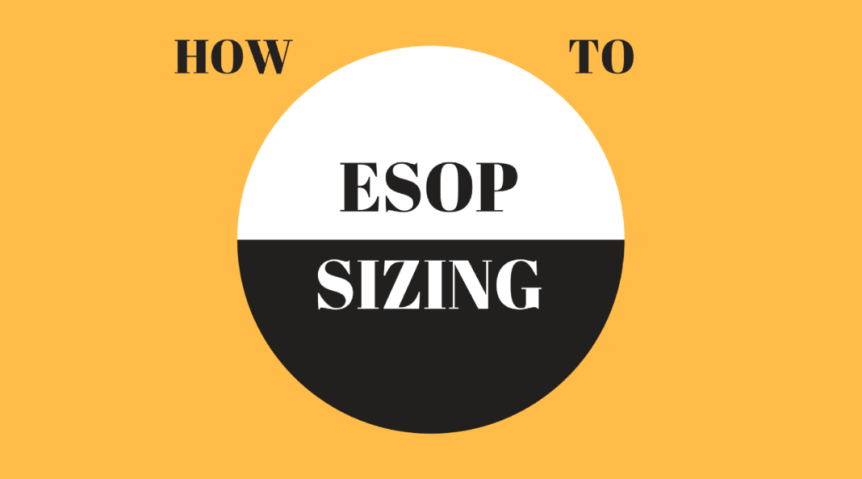 How to size employee ownership share plans at startups esop