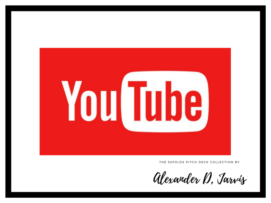 youtube pitch deck
