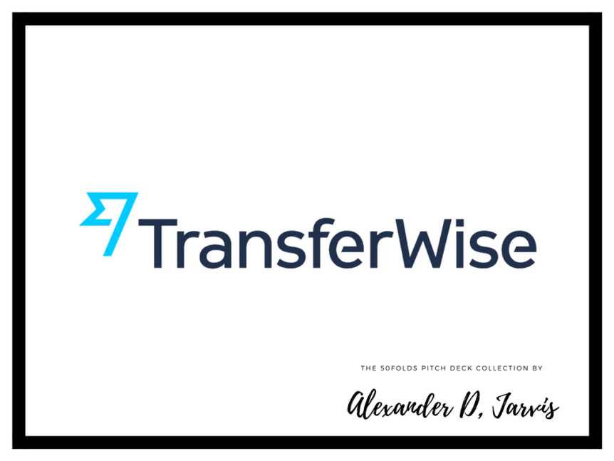 transferwise pitch deck cover