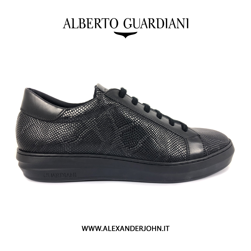Uomo Mod Sport – Alberto Guardiani Nero Shoes Man Freeman kXiPZuOT