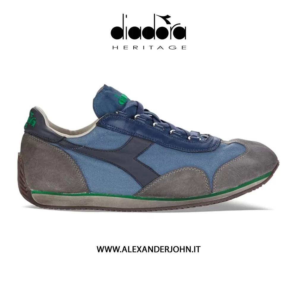 Women's Shoes Search For Flights Diadora Heritage Scarpe Sneakers Uomo Donna Trident Evo Light Camoscio Verde