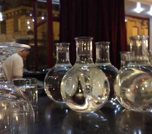 Amaranthe - bottles on bar