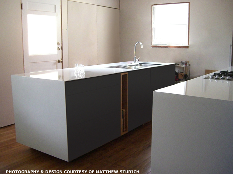 Genial Solid Plate Steel Recyclable Countertops Creativity