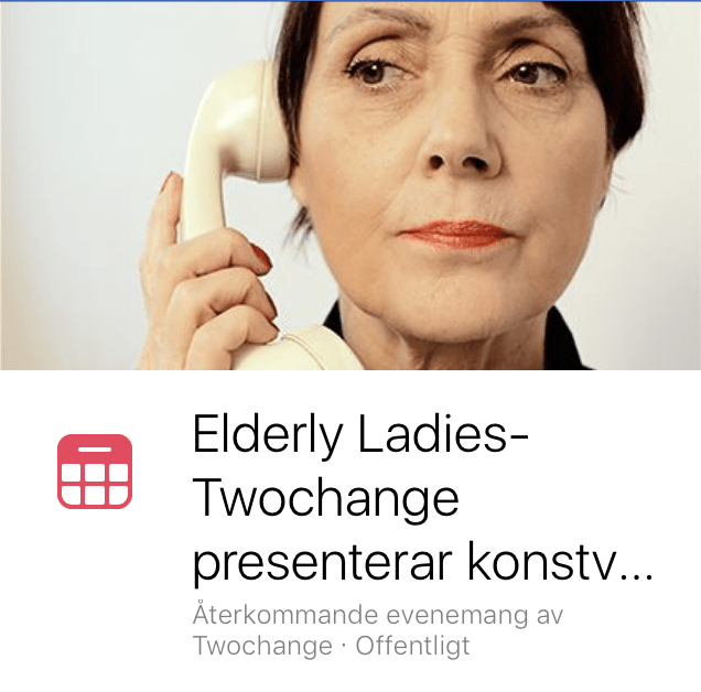 Elderly ladis