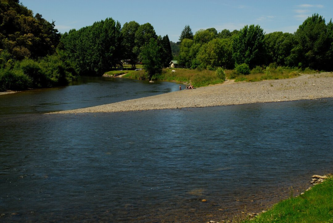 Joining of the Whanganui & Ongarue Rivers