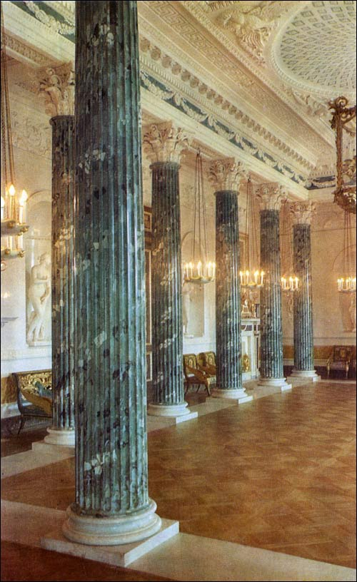 Grecian Hall Pavlovsk Palace Amp Park Country Residence Of The Russian Imperial Family