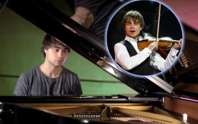 "A Classical romance: Alexander Rybak composes ""Til Julie"" for girlfriends' birthday"
