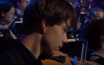 "Photo/Video: NRK. Alexander Rybak performed at the Grand Final of ""Virtuos 2018"""