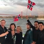 Eurovision, Lisbon: Alexander Rybak – Videos of Interviews at the Blue Carpet Opening Ceremony