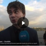 "NRK.no: Tired Rybak on the blue carpet: ""I'm hoping to make Norway proud"""
