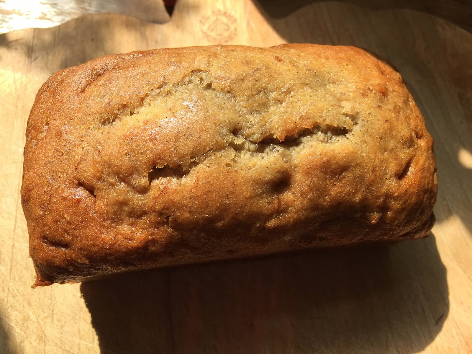 Cinnamon Brown Sugar Banana Bread (No Nuts)