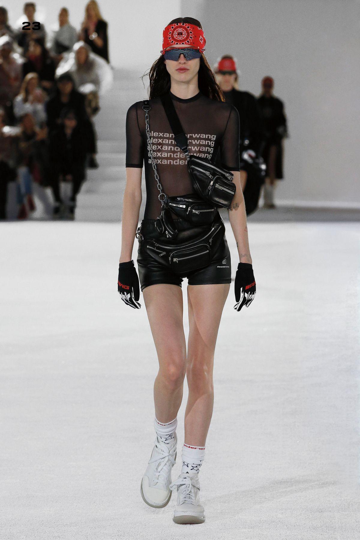 Y2K translucent fashion