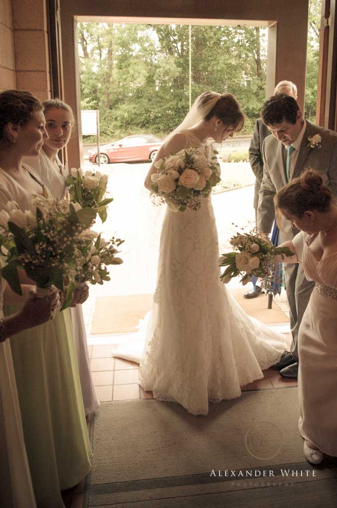 Wedding Photographer in Horsham shooting a wedding at StMarks church in West Sussex (1)