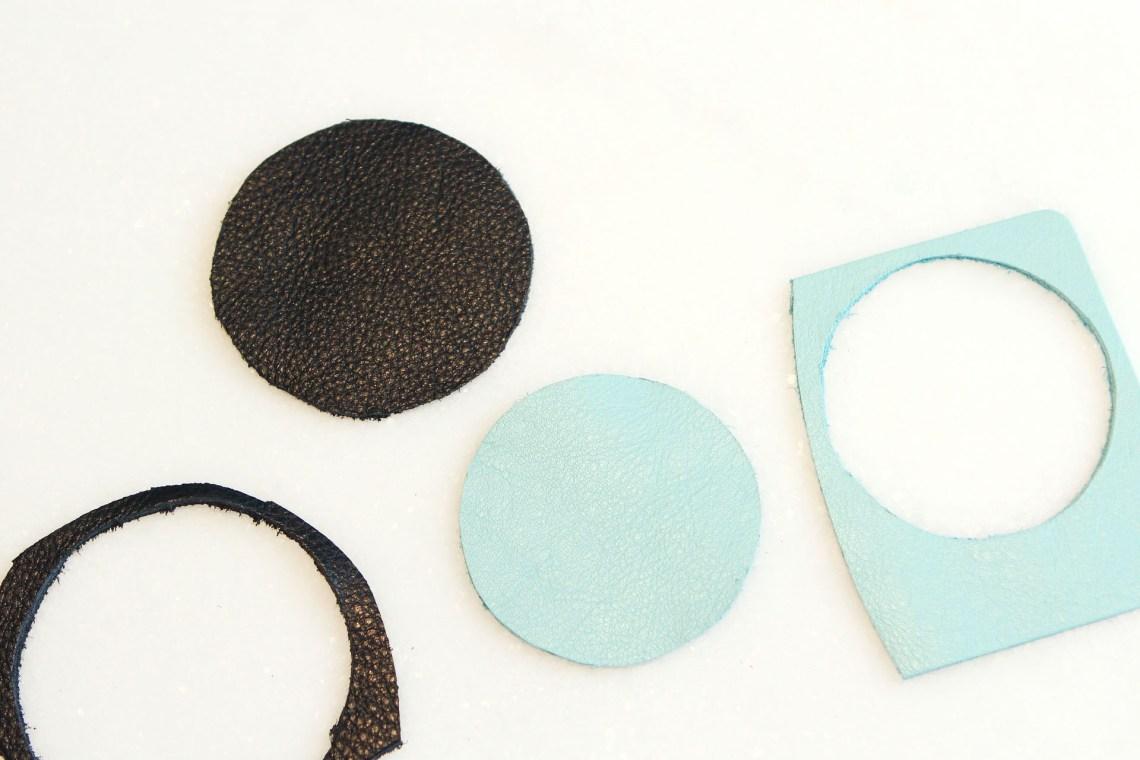 DIY Leather Cord Tacos | Alexandra Adams