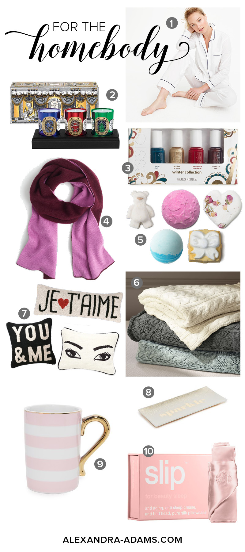 For the Homebody | Gift Guide | Christmas | Holiday