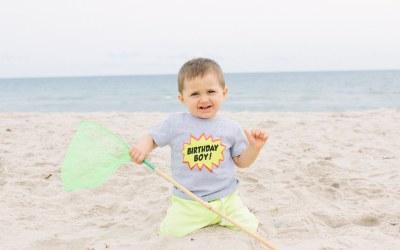 Rexhame Beach Milestone Session | Marshfield, MA
