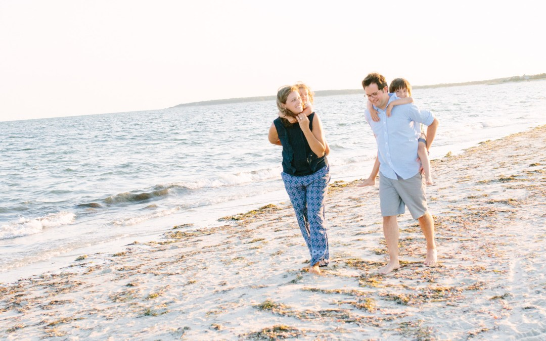 Seagull Beach Family Session | West Yarmouth, MA