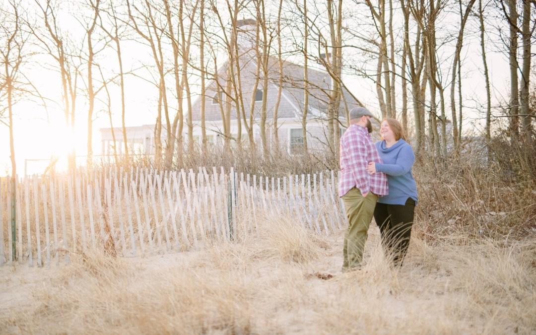 Jessie & Corey   Chatham, MA Engagement Session