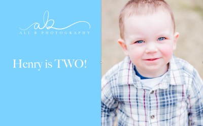 Henry is TWO!