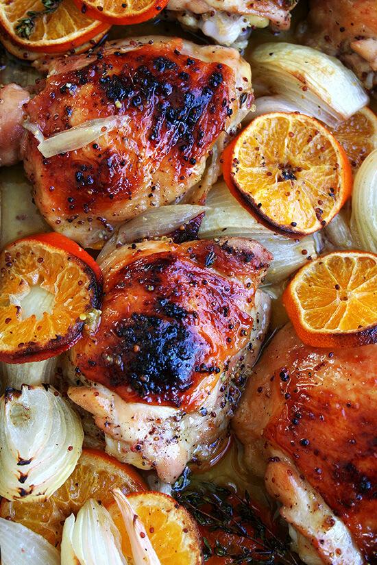 pollo con las clementinas