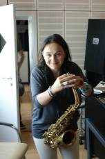 Carolin Hild, alto & soprano sax