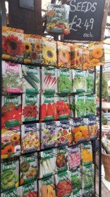 Franchi vegetable and flower selection
