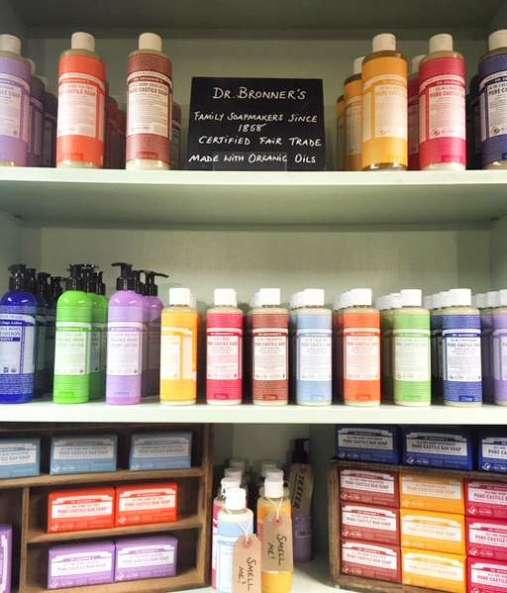 Dr. Bronners magic soap
