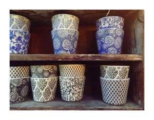 Printed Pots