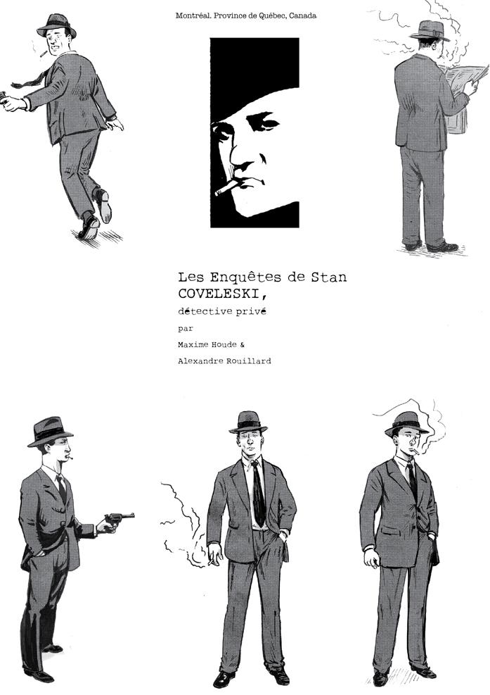 Stan Coveleski, détective privé.