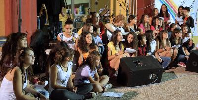 Μαθητές του Γυμνασίου Πλατέος σε εκδήλωση διαμαρτυρίας