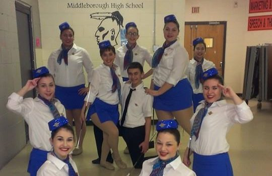 CLASS A TWIRLERS TAKE FIRST PLACE