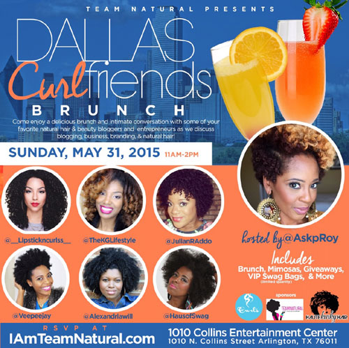 Dallas Curlfriends Flyer