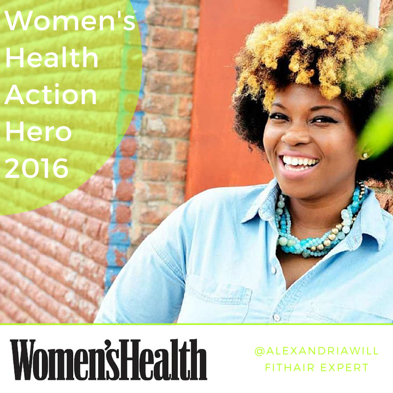 WOMEN HEALTH ACTION HERO ALEXANDRIA WILL