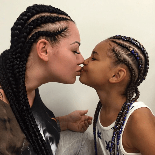 mother and daughter cornrows _ itselkethestallion