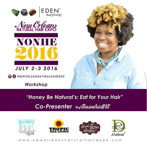 new orleans natural hair expo flyer fithair alexandriawill