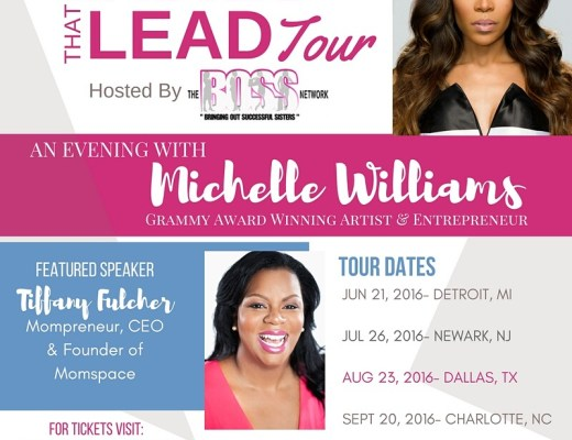 boss network ladies that lead tour flier