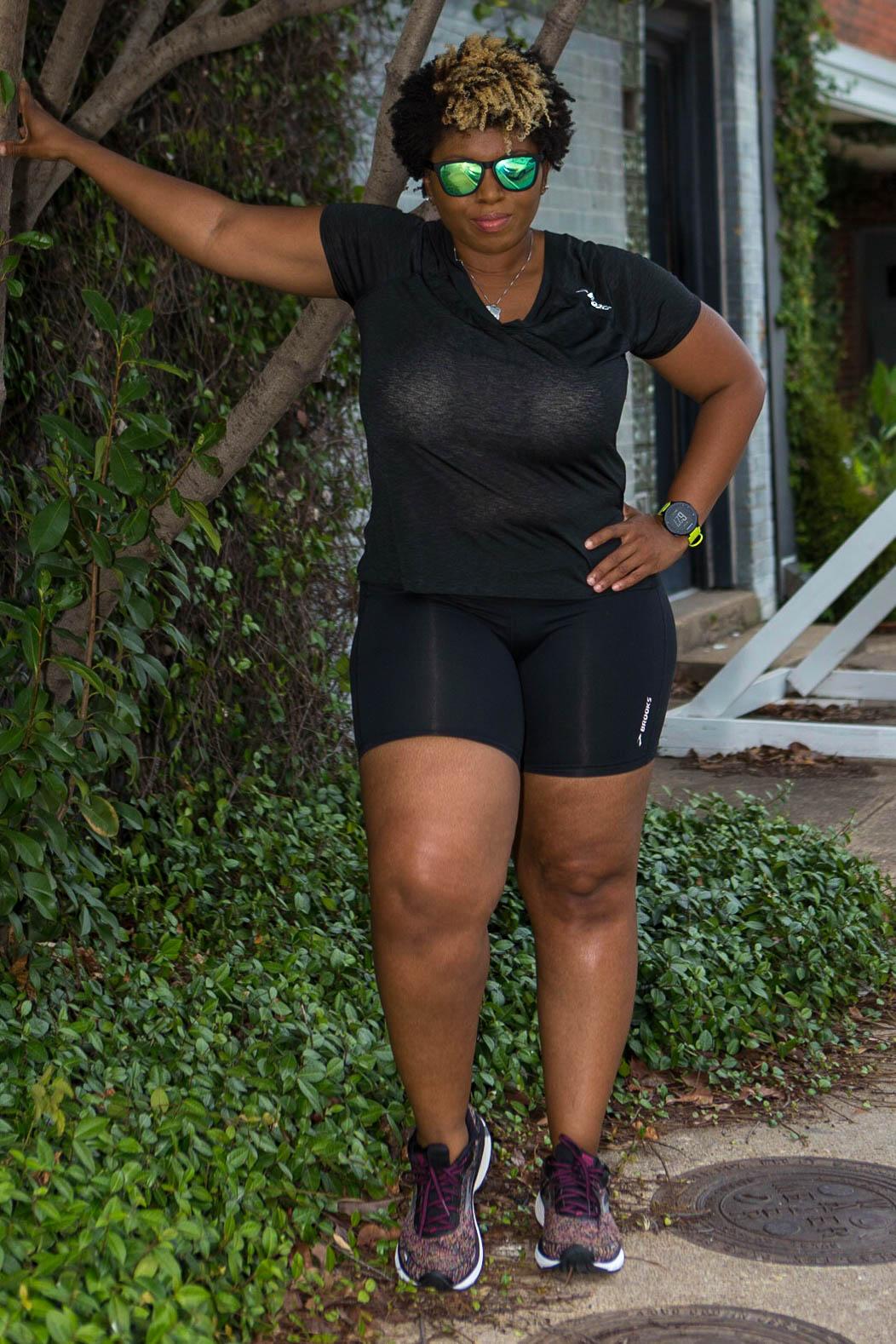 Big black thick thighs women