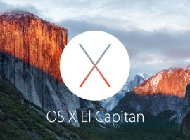 The next version of OS X is El Capitan