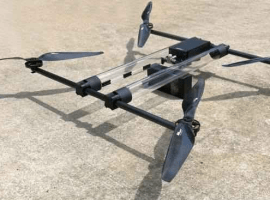 This Hydrogen Drone can fly for four hours