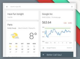 Chrome OS now has a Google Now launcher