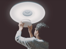 Sony's new smart light will turn on the TV
